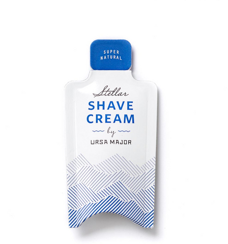Free sample of Ursa Major Shave Cream with a purchase of $75+