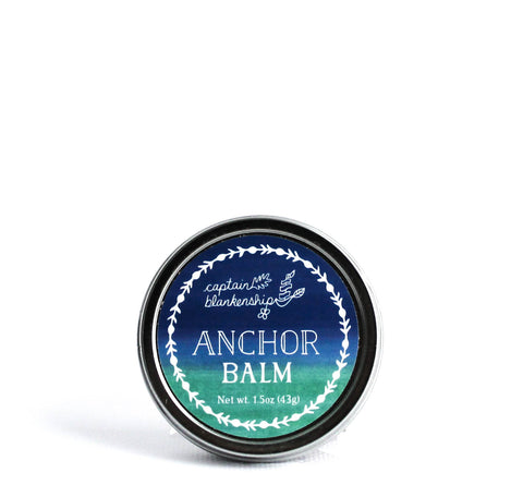 Captain Blankenship Anchor Hand & Lip Balm - deeply moisturizing all purpose balm| VitaBotanica - Free shipping $75+