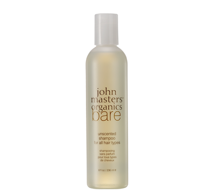 John Masters Organics Bare Unscented Shampoo for All Hair Types - VitaBotanica