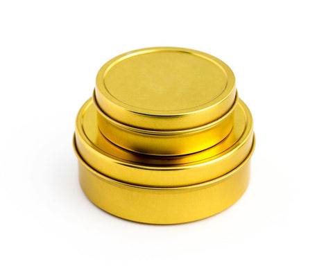 Unwrapped Life Travel Tins | Gold