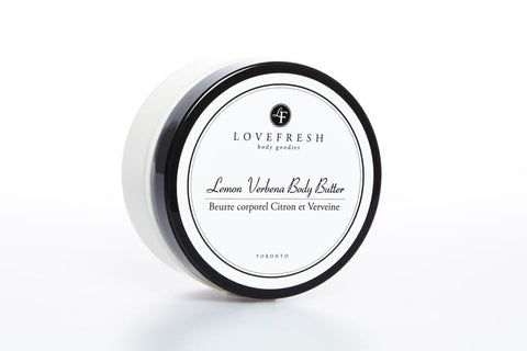 LOVEFRESH Lemon Verbena Body Butter