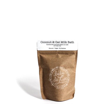 Bébé de Luxe | Petit Coconut & Oat Milk Bath - great for sensitive skin| VitaBotanica - Free shipping $75+
