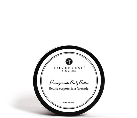 LOVEFRESH Pomegranate Body Butter | VitaBotanica