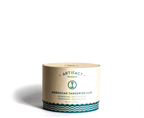 Artifact Moroccan Tangerine Clay - Draws out impurities and replenishes skin | Buy in Canada - VitaBotanica | Free shipping $75+