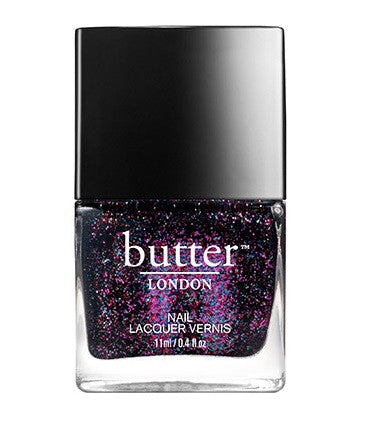 Butter London The Black Knight Nail Lacquer - VitaBotanica