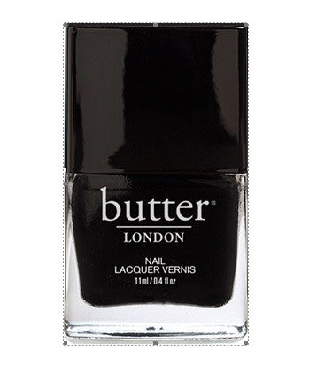 Butter London Union Jack Black Nail Lacquer - VitaBotanica
