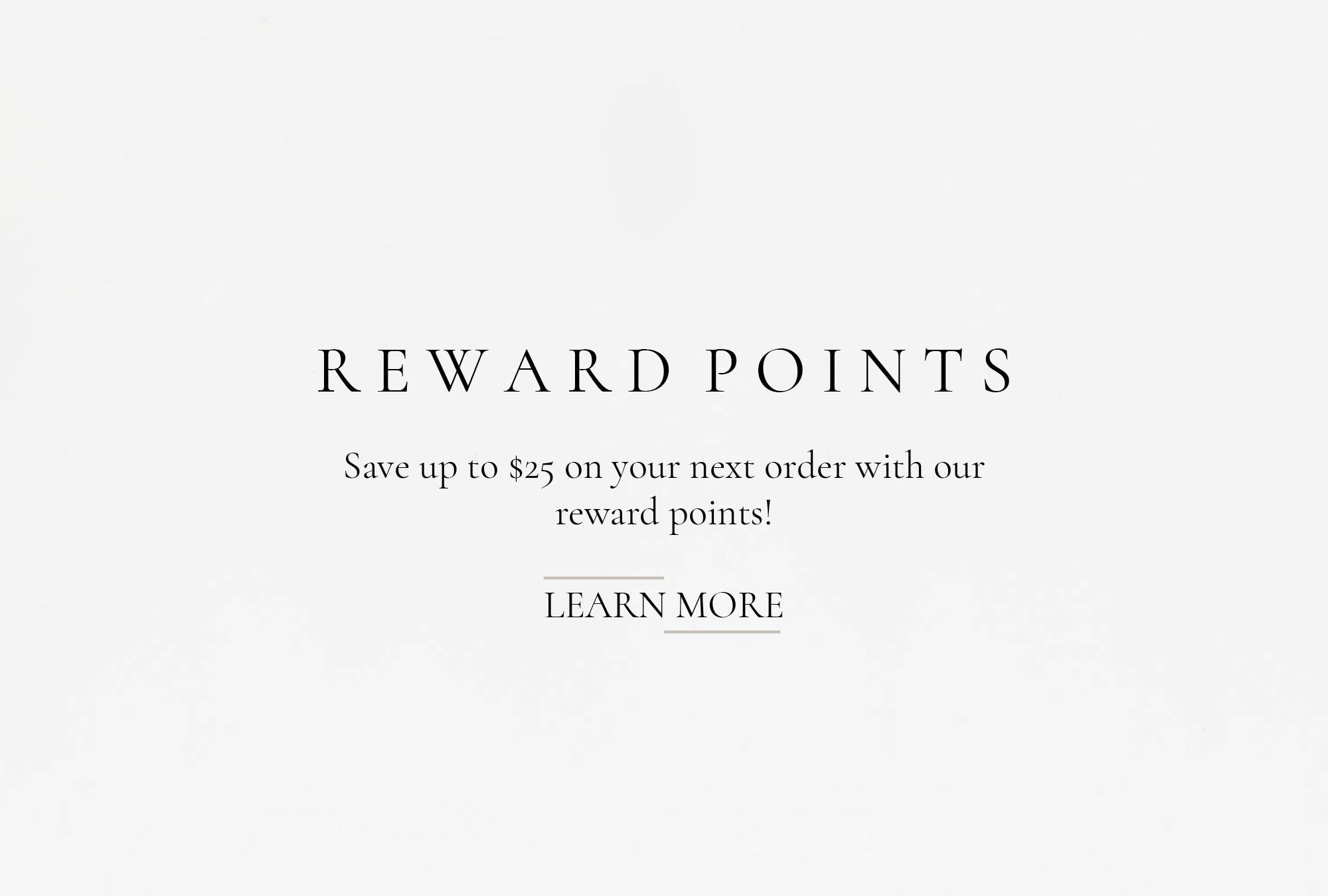 Earn rewards points