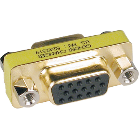 Tripp Lite Compact - Slimline VGA Video Coupler Gender Changer (F-F) -> May Require up to 5 Business Days to Ship
