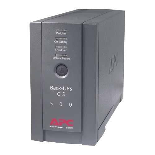 APC Back-UPS CS 500VA Tower UPS