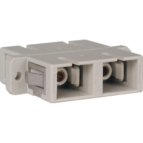 Tripp Lite Duplex Fiber Optic MMF - SMF Multimode Singlemode Coupler SC-SC -> May Require up to 5 Business Days to Ship