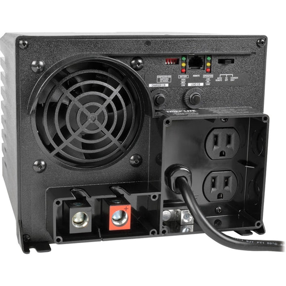 Tripp Lite 750W APS 12VDC 120V Inverter - Charger w- Auto Transfer Switching ATS 2 Outlets