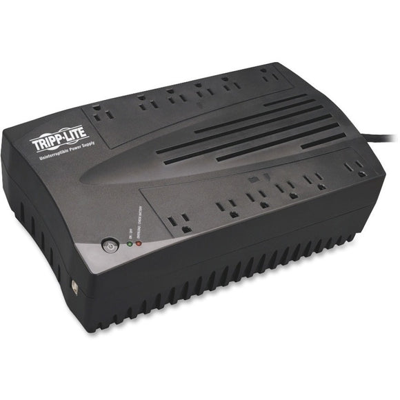 Tripp Lite UPS 750VA 450W Desktop Battery Back Up AVR Compact 120V USB RJ11