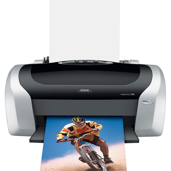 Epson Stylus C88+ Inkjet Printer - Color - 5760 x 1440 dpi Print - Plain Paper Print - Desktop