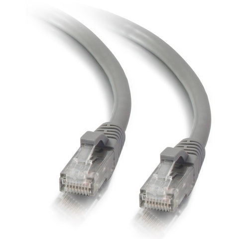 C2G 3ft Cat5e Snagless Unshielded (UTP) Network Patch Ethernet Cable - Gray