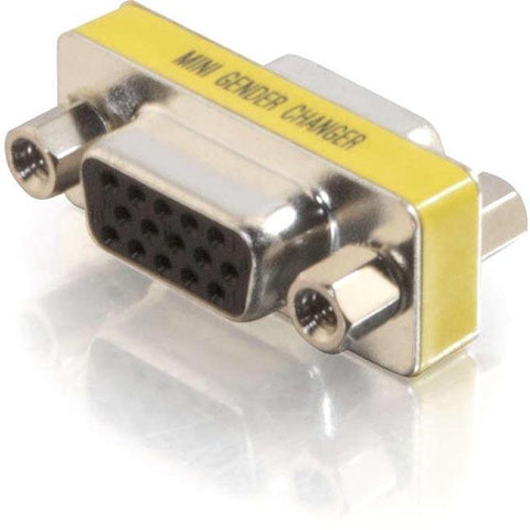 C2G HD15 VGA F-F Mini Gender Changer (Coupler)