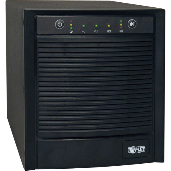 Tripp Lite UPS Smart 2200VA 1600W Tower AVR 120V Pure Sign Wave USB DB9 SNMP for Servers