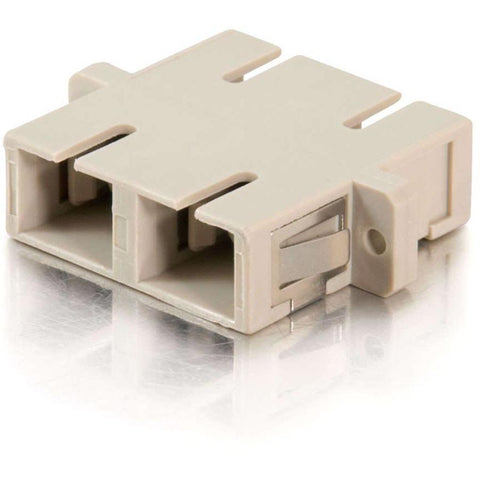 C2G SC Female to SC Female Duplex Fiber Adapter - SystemsDirect.com