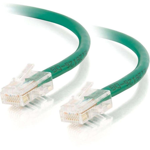 C2G-3ft Cat5e Non-Booted Crossover Unshielded (UTP) Network Patch Cable - Green