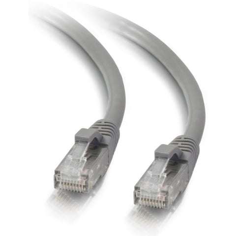 C2G 1ft Cat5e Snagless Unshielded (UTP) Network Patch Ethernet Cable - Gray