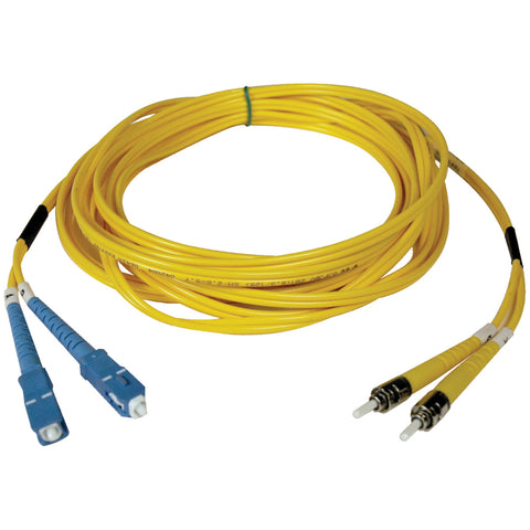 Tripp Lite 2M Duplex Singlemode 8.3-125 Fiber Optic Patch Cable SC-ST 6' 6ft 2 Meter -> May Require up to 5 Business Days to Ship