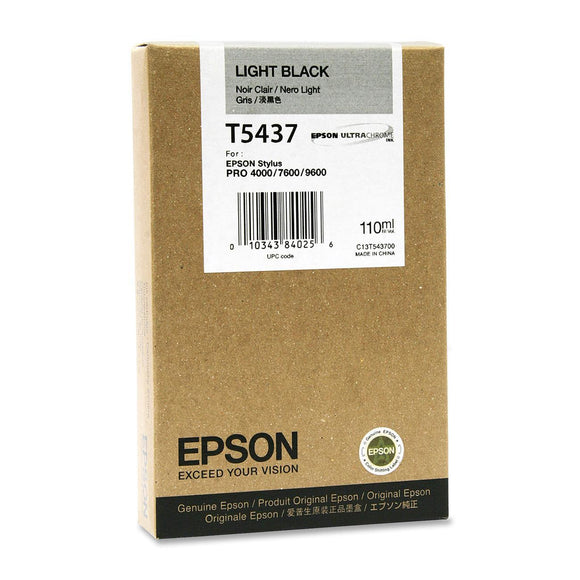 Epson Print Epson Light Black Ultrachrome Ink, 110 Ml, Stylus Pro 4000-7600-9600