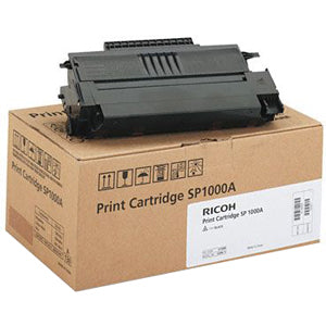 Ricoh Usa Black Toner For The Ricoh Fax 1180l F111 Lf225m Sp1000sf Sf3815 Avg Yield 4,000
