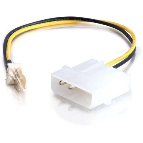 C2G 6in 3-pin Fan to 4-pin Power Adapter Cable
