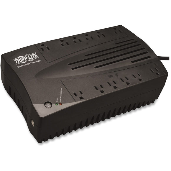 Tripp Lite UPS 900VA 480W Desktop Battery Back Up AVR Compact 120V USB RJ11