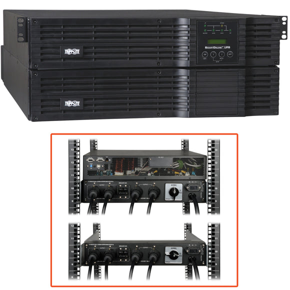 Tripp Lite UPS Smart Online 8000VA 5600W Rackmount 8kVA 120V-240V USB DB9 Manual Bypass Hot Swap 4URM ->  -> May Require Up to 5 Business Days to Ship -> May Require up to 5 Business Days to Ship
