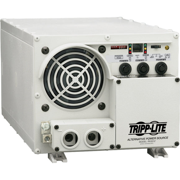 Tripp Lite 1500W RV Inverter - Charger with Hardwire Input - Output 12VDC 120VAC