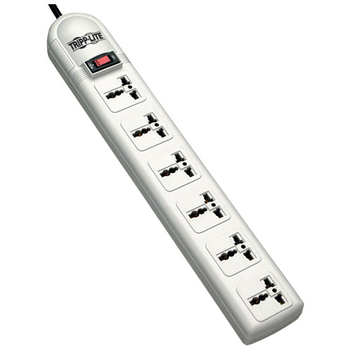 Tripp Lite International Surge Protector Power Strip 230V 6 Univeral Outlet