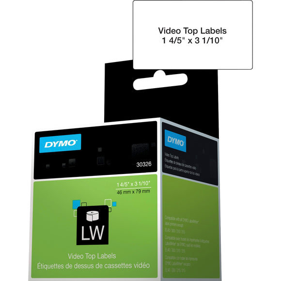 Dymo LabelWriter Video Spine Labels