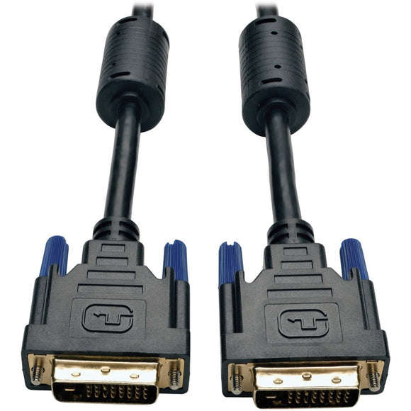 Tripp Lite 50ft DVI Dual Link Digital TMDS Monitor Cable DVI-D M-M 50'