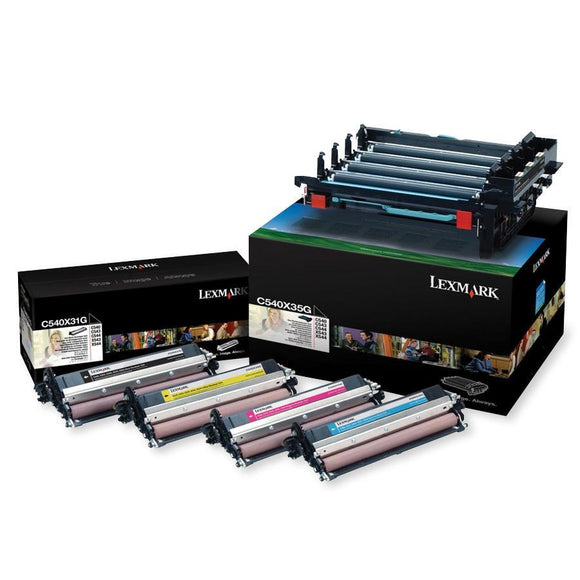(lexmark C540x74g) C540x74g Black And Color Imaging Kit 30,000 Pages Per Job 5% - SystemsDirect.com
