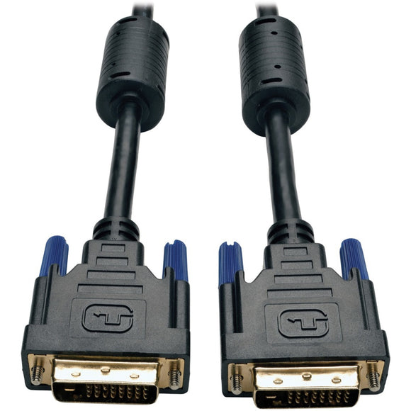 Tripp Lite 100ft DVI Dual Link Digital TMDS Monitor Cable DVI-D M-M 100'