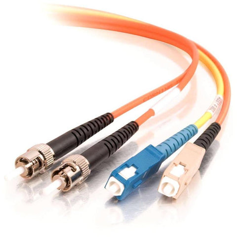 C2G 1m SC-ST 62.5-125 Mode-Conditioning Fiber Patch Cable - Orange - SystemsDirect.com