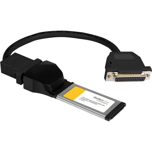 StarTech.com 1 Port ExpressCard Laptop Parallel Adapter Card - SPP-EPP-ECP