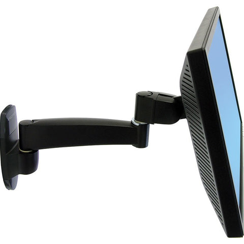 Ergotron 200 Series Wall Mount Monitor Arm,1 Extension.provides A Sturdy Platfor