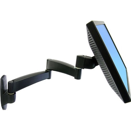 Ergotron 200 Series Wall Mount Monitor Arm,2 Extensions.extend Or Retract,swing,
