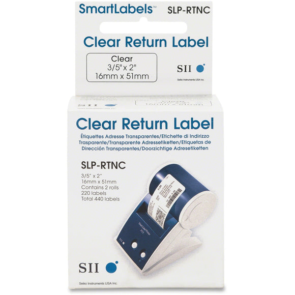Seiko Return Address Label