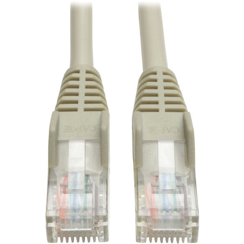 Tripp Lite 25ft Cat5e - Cat5 Snagless Molded Patch Cable RJ45 M-M Gray 25'