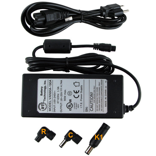 Battery Technology 90w Universal Ac Adapter For Dell