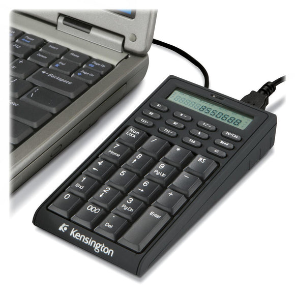 Kensington 72274 Notebook Keypad-Calculator with USB Hub - PC & MAC Compatible