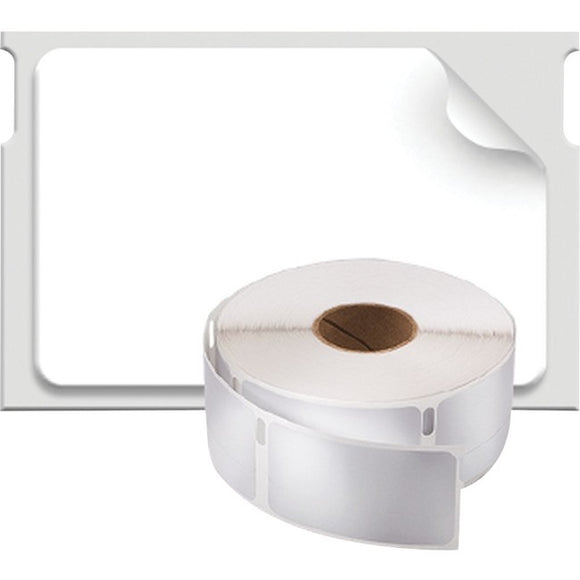 Dymo Labelwriter White 1 X 1.5 Labels, 750 Labels Per Roll, 1 Roll Per Box.  Thi