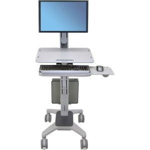 Ergotron WorkFit-C, Single LD Sit-Stand Workstation