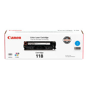 Canon Usa Canon Cartridge 118 Cyan Toner - For Canon Imageclass Lbp7200cdn, Lbp7660cdn, Mf