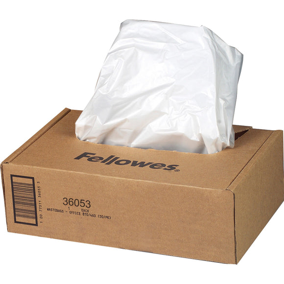 Fellowes Waste Bags for 99Ms, 90S , 99Ci, HS-440 and AutoMax'Ñ¢ 130C, 150C, 200C and 200M Shredders