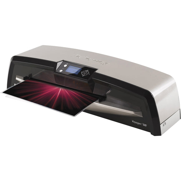 Fellowes Voyager'Ñ¢ 125 Laminator with Pouch Starter Kit