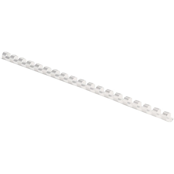 Fellowes, Inc. Binding Combs Plastic - White 1-4in 100p