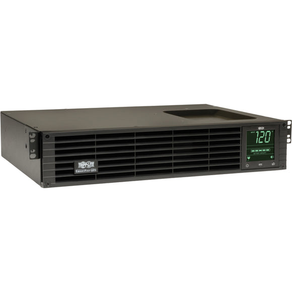 Tripp Lite UPS Smart 1000VA 800W Rackmount AVR 120V Pure Sine Wave LCD USB DB9 2URM TAA ->  -> May Require Up to 5 Business Days to Ship -> May Require up to 5 Business Days to Ship